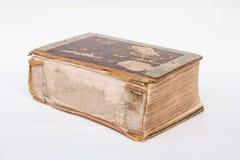 gammalt bokomslag Arkivfoto