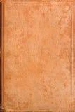 gammalt bokomslagläder Arkivfoto