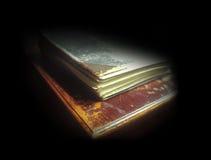 gammalt bokskrivbord Arkivfoton