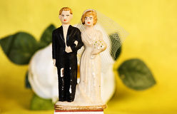 gammalt bröllop för 2 par Royaltyfri Foto