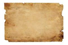 Gammalt brunt papper Fotografering för Bildbyråer