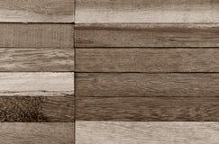 Gammalt brunt trä för yttersida Royaltyfria Foton