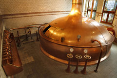 Gammalt bryggeri Fotografering för Bildbyråer