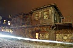 gammalt bulgarian hus Royaltyfri Foto