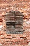 gammalt byggande Arkivbild