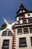 gammalt chemnitz stadshus royaltyfri bild