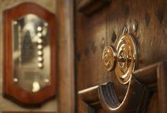 gammalt dörrhandtag Royaltyfri Foto