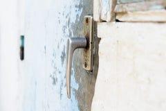 gammalt dörrhandtag Royaltyfria Foton