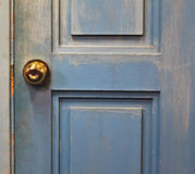 gammalt dörrhandtagjärn Royaltyfri Bild