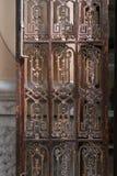 gammalt dörrjärn antikviteten royaltyfria bilder