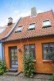 gammalt danskt hus Royaltyfria Foton