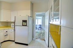 Gammalt daterat kök Fotografering för Bildbyråer