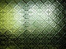Gammalt dekorativt exponeringsglasmodellslut upp skott arkivfoton