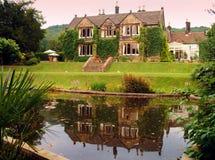 gammalt derbyshire hus Royaltyfria Foton
