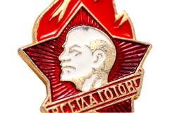 gammalt emblem royaltyfria bilder