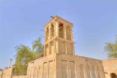 gammalt enigt för arabiska dubai emirates Arkivfoto