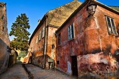 gammalt europeiskt hus för distilery Royaltyfria Bilder