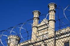 gammalt fängelse för joliet Arkivbilder