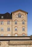 Gammalt fängelse i Horsens, Danmark Fotografering för Bildbyråer