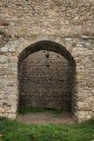 Gammalt fästningtorn som byggs av stenen Royaltyfria Foton