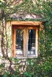 gammalt fönster royaltyfria bilder