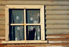 gammalt fönster Fotografering för Bildbyråer