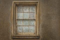 Gammalt fönsterramfönster Royaltyfri Foto