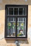 gammalt fönsterträ Royaltyfria Foton