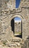 Gammalt fördärvar av slott i Skoder, Albanien Royaltyfri Foto