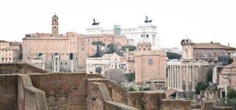 Gammalt fördärvar i Rome fotografering för bildbyråer