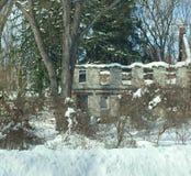 Gammalt förfalla hus Royaltyfri Bild