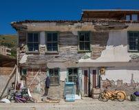 gammalt förstört för hus Arkivfoto