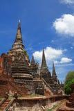 gammalt förstört tempel thailand för ayutthaya Royaltyfria Bilder