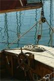 gammalt fartyg Arkivbild