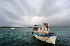 gammalt fartygfiske Fotografering för Bildbyråer