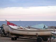 gammalt fartygfiske Royaltyfri Bild
