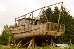gammalt fartygfiske royaltyfria foton