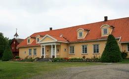 gammalt fint hus royaltyfri fotografi