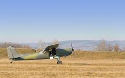 gammalt flygplan Royaltyfria Foton