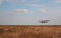 gammalt flygplan Royaltyfri Fotografi