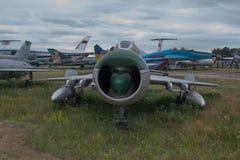 gammalt flygplan royaltyfri bild