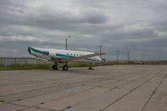 gammalt flygplan arkivbilder