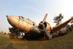 gammalt flygplan arkivfoton