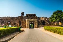 Gammalt fort av Delhi Royaltyfria Bilder