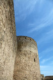 gammalt foto för slott Royaltyfri Bild