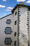 gammalt france hus Arkivbilder