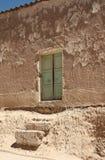 Gammalt förfallet hus i Bolivia Royaltyfria Bilder