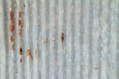Gammalt galvaniserat ark Royaltyfri Bild