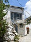 Gammalt Grekland hus Royaltyfri Fotografi