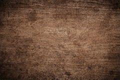 Gammalt grungemörker texturerade träbakgrund, yttersidan av den gamla bruna wood texturen, för teakträträ för bästa sikt panel royaltyfria foton